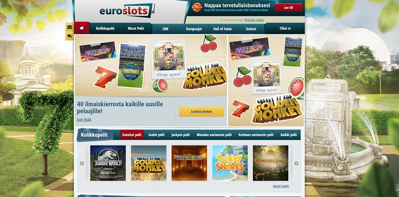 EuroSlots on slottien ykkönen
